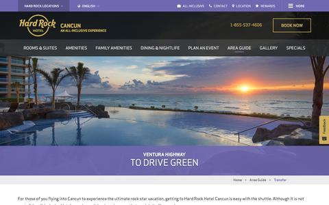 Transfer | Hard Rock Hotel Cancun