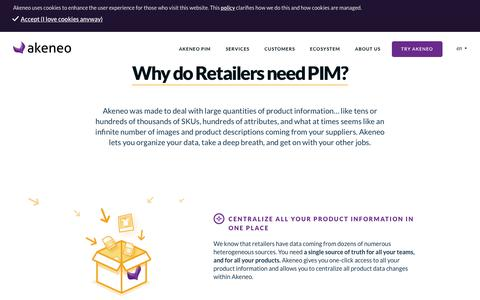 Why do Retailers need PIM? - Akeneo - The Open Source PIM