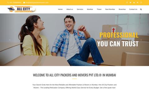 Packers and Movers Mumbai - All City Packers and Movers Pvt Ltd.®