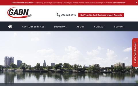 Screenshot of About Page gabn.net - gabn- About - GABN : GABN - captured July 2, 2018