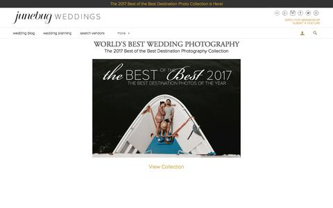 The 2017 Best of the Best Destination Photography Collection | Junebug Weddings