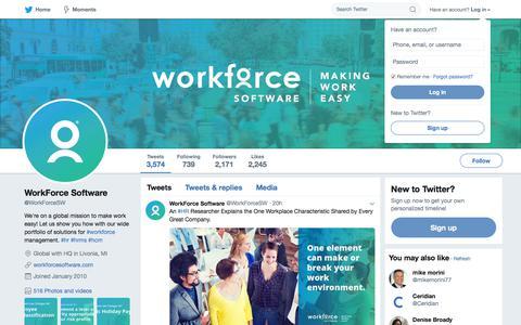 WorkForce Software (@WorkForceSW) | Twitter