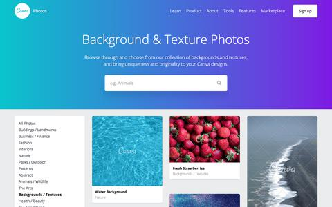 Background and Texture Images — Canva Stock Image Library