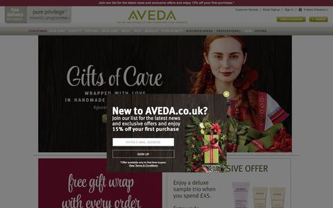 Hair Care | Skin Care | Beauty Products | Aveda UK Official Site
