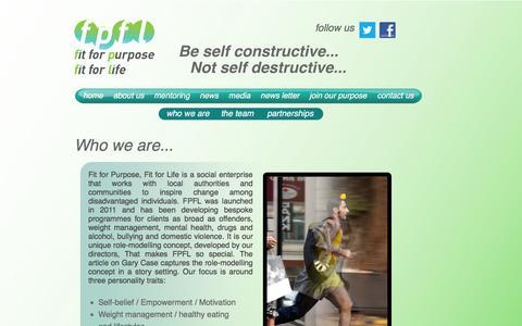 Screenshot of About Page fpfl.org.uk - FPFL - captured Jan. 22, 2016