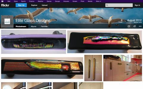 Screenshot of Flickr Page flickr.com - Flickr: Elite Glass Designs' Photostream - captured Oct. 22, 2014
