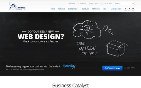 Business Catalyst - Search Engine Optimisation NSW | A.W.D.