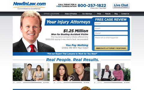 Expert Injury Attorney Dan Newlin - Millions Recovered