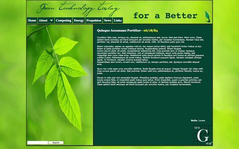 Screenshot of Press Page mjmgtech.com - News - captured Oct. 3, 2014