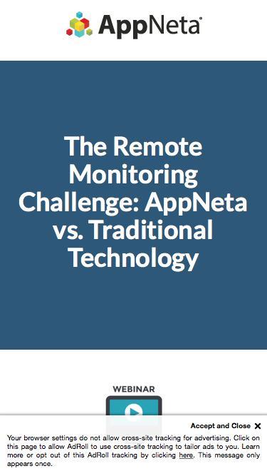 The Remote Monitoring Challenge: AppNeta vs. Traditional Tech
