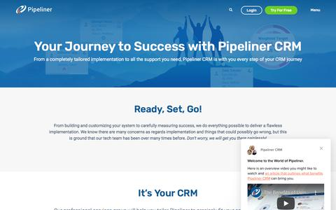Screenshot of Case Studies Page pipelinersales.com - Pipeliner CRM says… - captured Dec. 9, 2019
