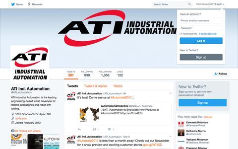 ATI Ind. Automation (@ATI_Automation) | Twitter