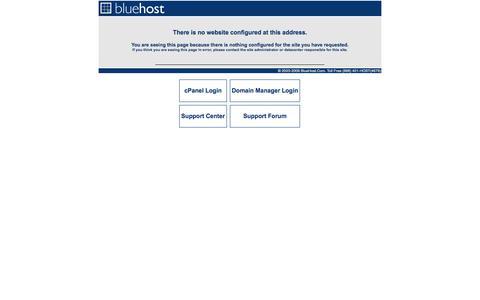 Screenshot of Home Page alarmcontrol.com - Bluehost.com - captured Oct. 4, 2014