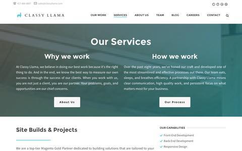 Services - Classy Llama