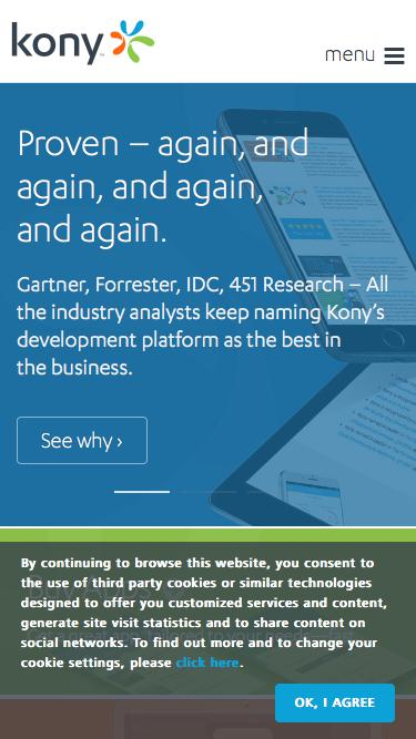 Enterprise Mobile, Cross Platform Application Development | Kony