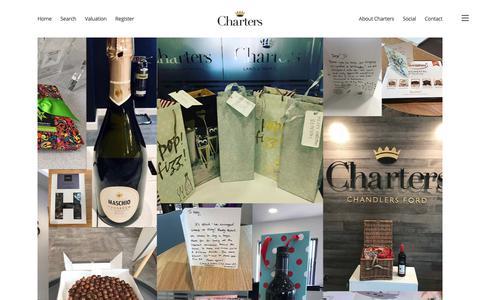 Screenshot of Testimonials Page chartersestateagents.co.uk - Testimonials - Charters Estate AgentsCharters Estate Agents - captured Nov. 4, 2018