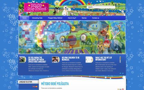 Screenshot of Home Page babystar.com.co - Baby Star - captured Oct. 5, 2014