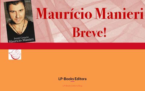 Screenshot of Blog lp-books.com.br - LP-Books Editora � blog - captured Dec. 12, 2015