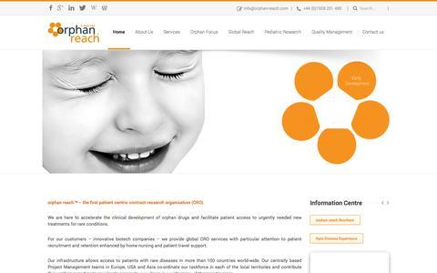 orphan reach™- A Rare Disease CROHome » orphan reach™- A Rare Disease CRO