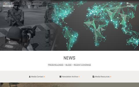 Screenshot of Press Page bisimulations.com - BISim | News - captured Nov. 29, 2017