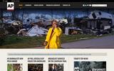 New Screenshot Associated Press Home Page