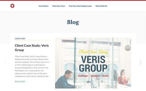 Screenshot of Blog scopegroupdc.com - Blog | Scope Group - captured Nov. 17, 2016
