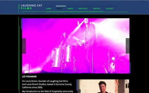 Screenshot of About Page laughingcatfilms.com - Laughing Cat Films | ABOUT - captured Oct. 29, 2016