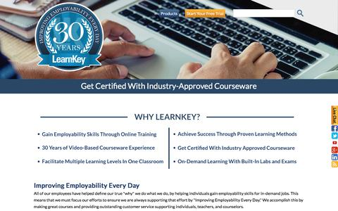 Why LearnKey? | About LearnKey | Self-Paced Education & Training