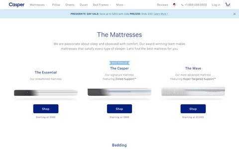 Casper Products for Bed | Casper®