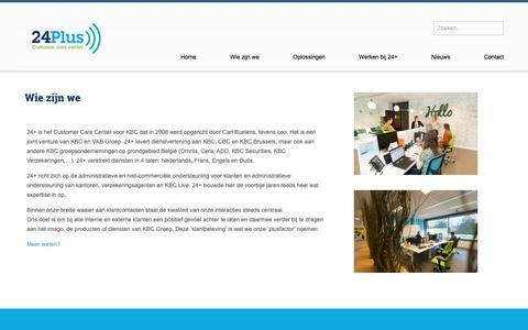Screenshot of Team Page 24plus.be - Ontdek hier alles over 24+ en wie we zijn | 24+ - captured Nov. 15, 2018