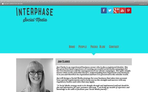 Screenshot of Team Page interphasesocial.co.uk - Interphase Social Media - The social media team - captured March 6, 2016