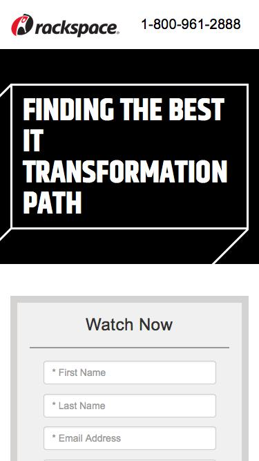 Crossing the IT Transformation Chasm – Finding the Best IT Transformation Path