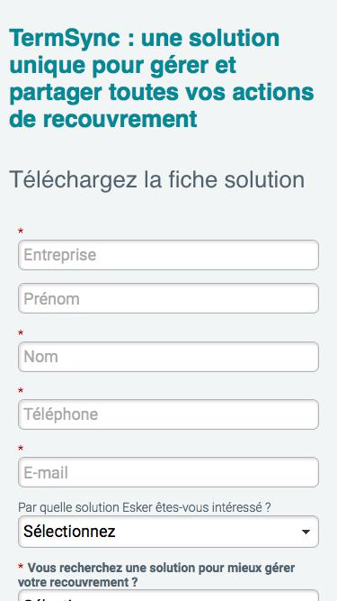 Fiche solution TermSync : une solution unique pour gérer et partager toutes vos actions de recouvrement