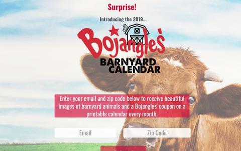 Screenshot of Press Page bojangles.com - Bojangles' Famous Chicken 'n Biscuits | News - captured July 24, 2018