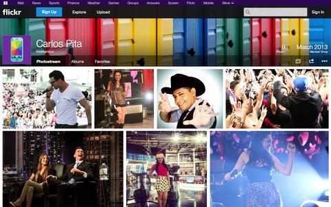 Screenshot of Flickr Page flickr.com - Flickr: thinkfamous' Photostream - captured Oct. 25, 2014