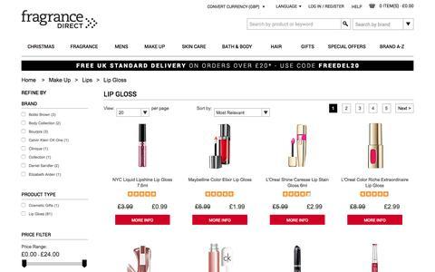 Lip Gloss | Fragrance Direct