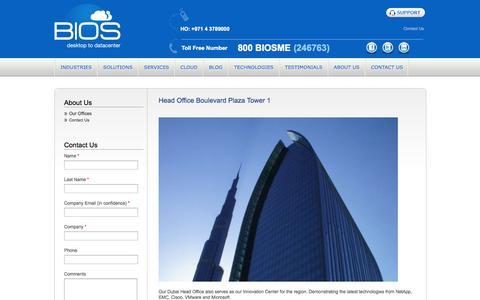 Screenshot of Locations Page biosme.com - Top IT Companies | IT Companies | IT Company | UAE | Dubai | Abu Dhabi | BIOS - captured Sept. 30, 2014