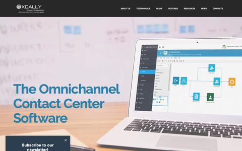 Screenshot of About Page Testimonials Page xcally.com - XCALLY Omnichannel Contact Center Software - captured Oct. 19, 2018