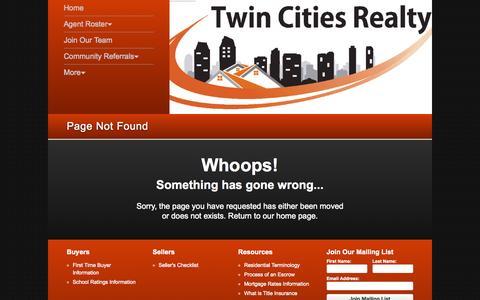 Screenshot of Press Page twincitiesrealtyca.com - Twin Cities Realty | Temecula - captured Aug. 12, 2015