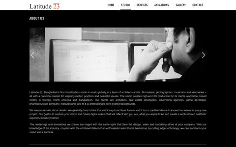 Screenshot of About Page latitude-23.net - About Us ‹ Latitude-23 - captured Oct. 22, 2014