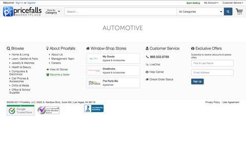 Automotive - Pricefalls.com