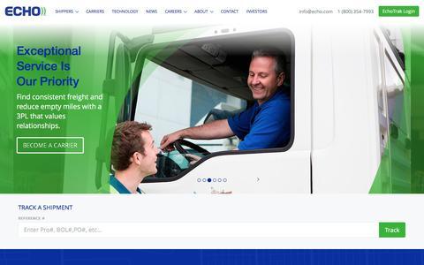 Home - Echo Global Logistics