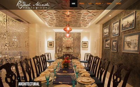 Screenshot of Home Page aestheticframes.com - Rajesh Mindi Photography | - captured Sept. 19, 2014