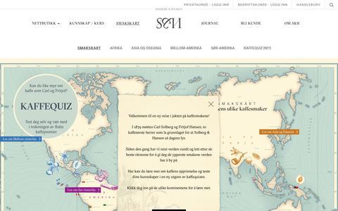 Screenshot of Maps & Directions Page sh.no - Solberg & Hansen - bli kjent med ulike smaker fra hele verden - captured Oct. 19, 2018