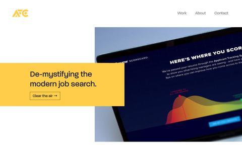Adam Fisher-Cox     Visual & Interactive Design