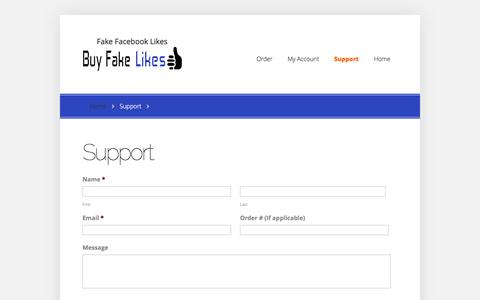 Support | Buy Fake Facebook Likes