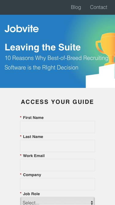 Leaving the Suite: 10 Reasons Why Best-of-Breed Recruiting Software is the Right Decision