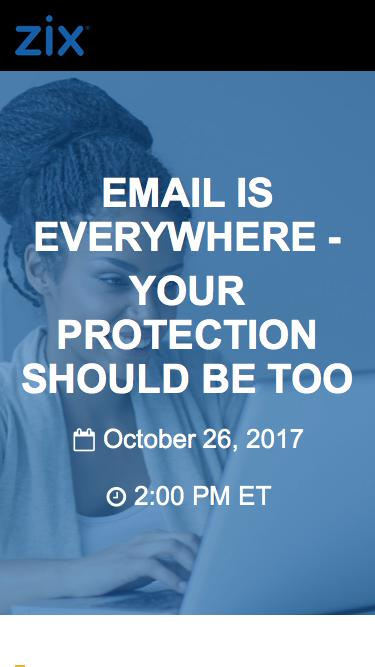 Webinar | Email is Everywhere