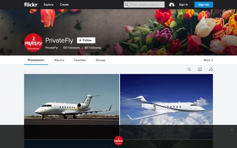 Screenshot of Flickr Page flickr.com - PrivateFly | Flickr - Photo Sharing! - captured Nov. 23, 2015