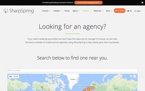 Looking for an agency? - SharpSpring